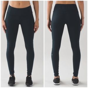Lululemon Fresh Tracks Tights in Nocturnal Teal